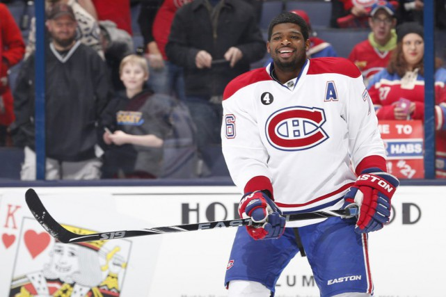 P.K. Subban... (PHOTO AARON DOSTER, USA TODAY)