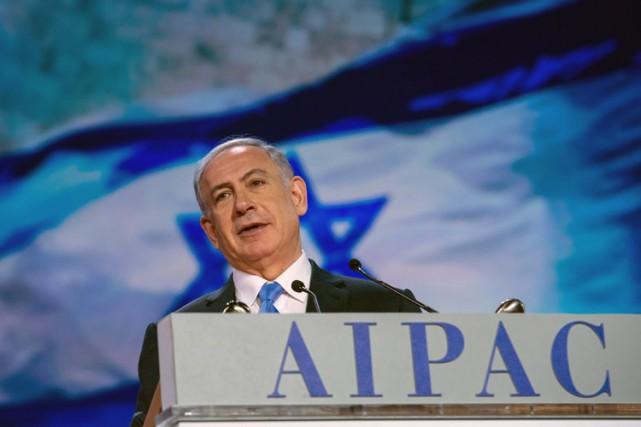 Benyamin Nétanyahou a donné lundi une allocution à... (Photo: AFP)