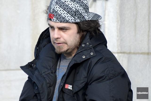 Steven Gaudreault s'expose à cinq années de prison... ((Photo Le Quotidien, Jeannot Lévesque))