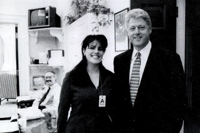 Monica Lewinsky, ancienne stagiaire à la Maison-Blanche âgée... (Archives AP)
