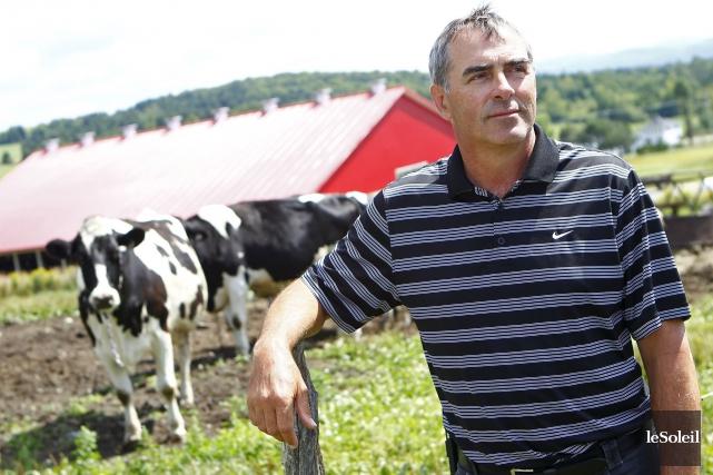 Le président de l'Union des producteurs agricoles, Marcel... (Photothèque Le Soleil, Yan Doublet)