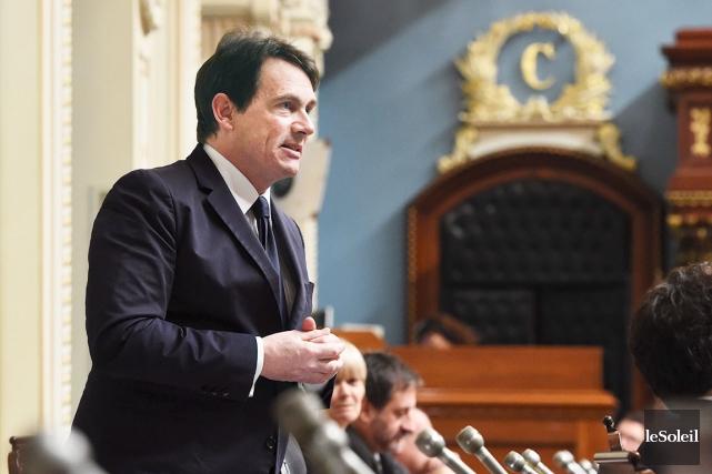 Pierre Karl Péladeau dénonce des journalistes de La... (Photothèque Le Soleil)