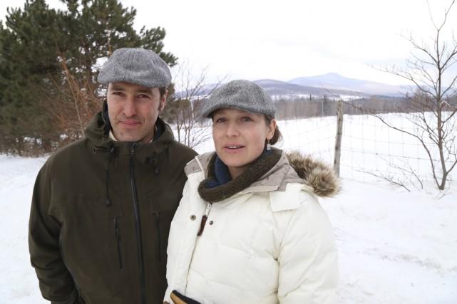 Philippe Choinière et Stacey Lecuyer refusent de voir... (photo Janick Marois)