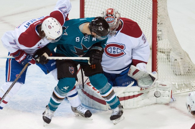 Relisez le clavardage du match entre le Canadien et les Sharks de San Jose avec... (Photo: Reuters)