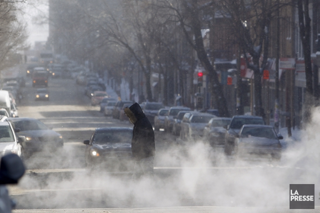 Les températures froides enregistrées au cours du dernier... (PHOTO MARTIN CHAMBERLAND, ARCHIVES LA PRESSE)