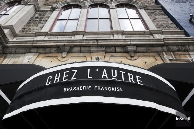 Chez L'Autre-Brasserie française et la pizzeria Il Teatro,... (Photothèque Le Soleil, Erick Labbé)