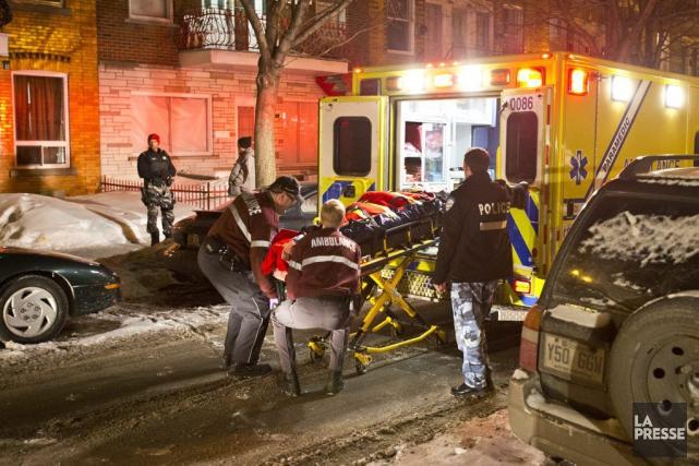L'agression a été commise dans un logement de... (PHOTO FÉLIX O.J. FOURNIER, COLLABORATION SPECIALE)
