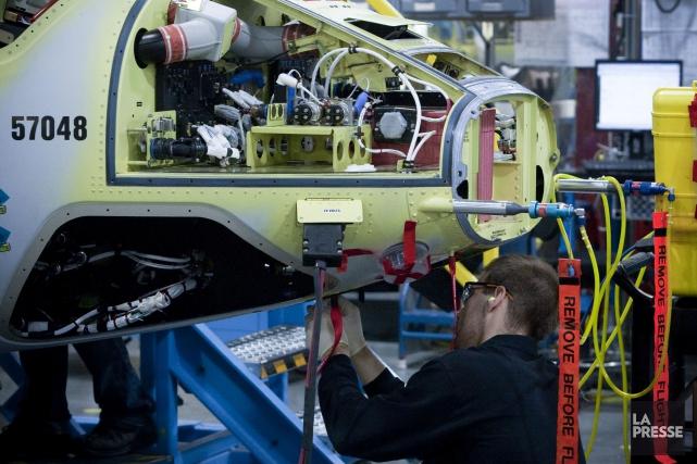 AirbusHelicopters contestait un contrat de 172 millions octroyé... (PHOTO OLIVIER JEAN, ARCHIVES LA PRESSE)