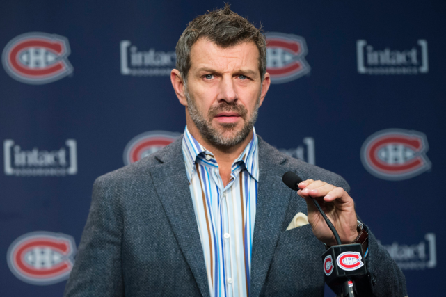 Marc Bergevin a renforcé le Canadien en ne... (Photo Graham Hughes, archives PC)
