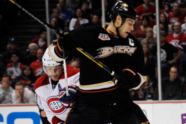Andrei Markov et Ryan Getzlaf... (Photo archives USA Today)