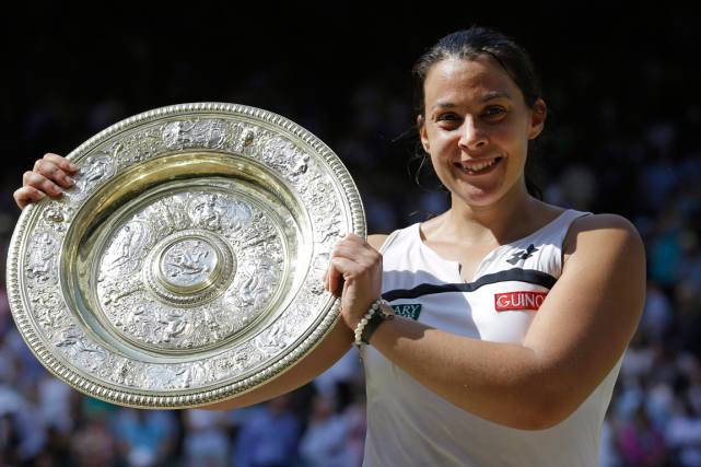 Marion Bartoli a pris sa retraite du tennis... (Photo Anja Niedringhaus, archives AP)