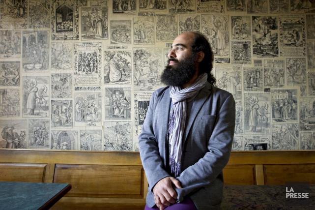 Le musicien KiyaTabassian,compositeur canadien d'origine iranienne.... (PHOTO OLIVIER JEAN, ARCHIVES LA PRESSE)