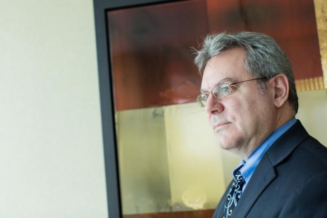 François Landry, premier vice-président et chef de placements... (PHOTO, EDOUARD PLANTE-FRECHETTE)