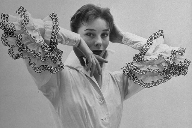 Surnommée à l'époque «la Française la plus photographiée»,... (Photo tirée de Flickr)