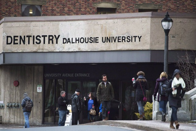 La faculté de dentisterie de l'Université Dalhousie, à... (PHOTO ANDREW VAUGHAN, ARCHIVES LA PRESSE CANADIENNE)
