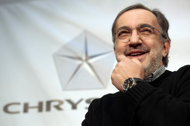 Le PDG de FCA, Sergio Marchionne... (PHOTO ARCHIVES REUTERS)