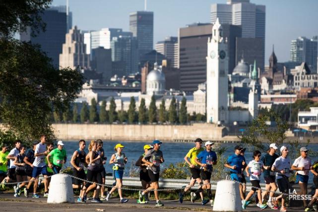L'organisation du Marathon Oasis Rock'n'Roll de Montréal, qui... (PHOTO SIMON GIROUX, LA PRESSE)