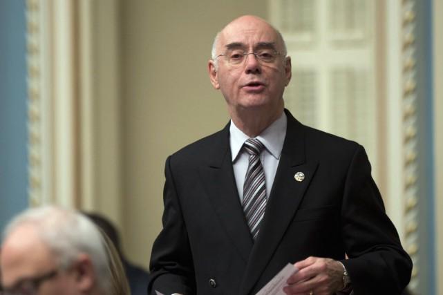 Le ministre de l'Économie, Jacques Daoust.... (Photo Jacques Boissinot, La Presse canadienne)