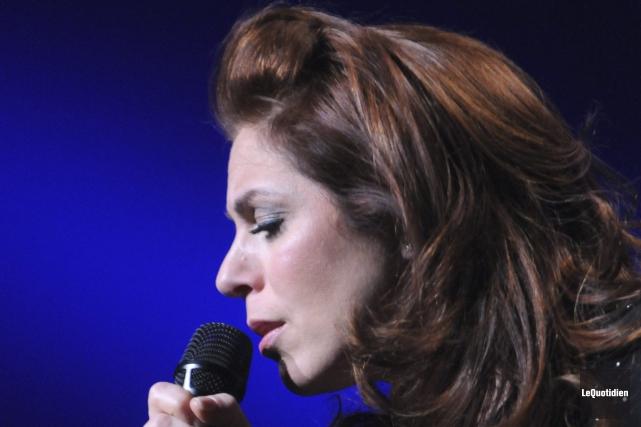 Isabelle Boulay a mis ses pas dans ceux... ((Photo Le Quotidien, Michel Tremblay))