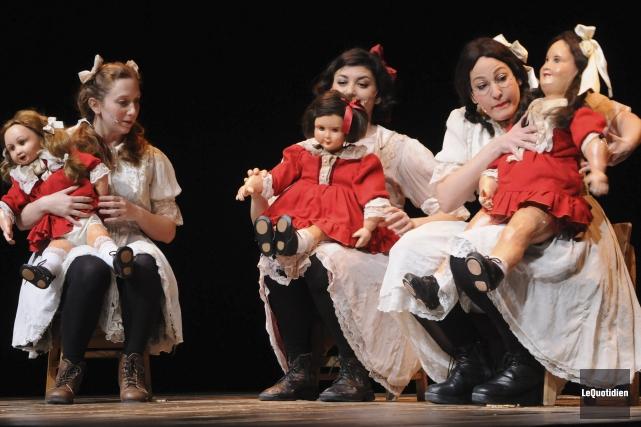 Une pièce remarquable, du genre qui laisse une... ((Photo Le Quotidien, Michel Tremblay))