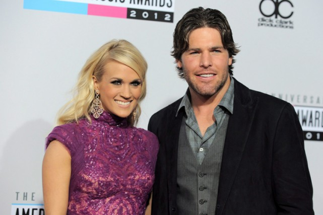 Carrie Underwood et Mike Fisher en 2012.... (Photo: PC)