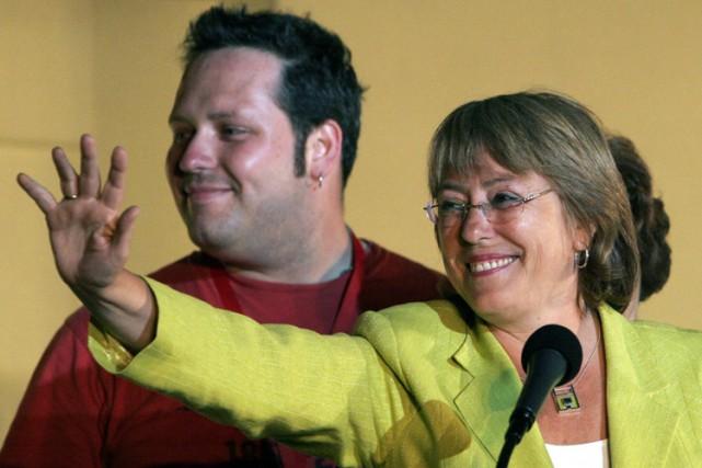 Le fils aîné de la présidente, Sebastian Davalos,... (Archives AP)