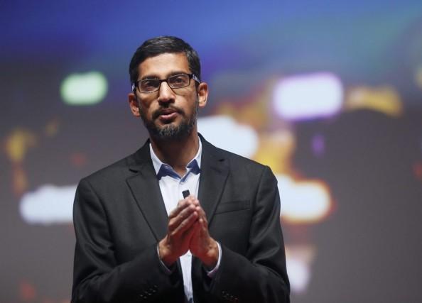 SundarPichai, numéro deux chez Google, espère bâtir d'ici... (PHOTO ALBERT GEA, REUTERS)