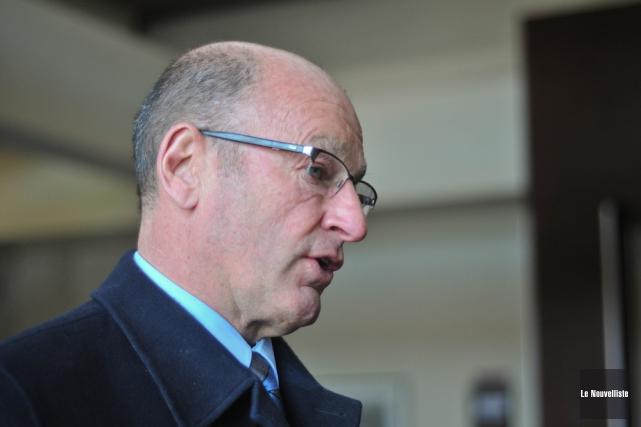 Le maire de Trois-Rivières, Yves Lévesque.... (Photo: Émilie O'Connor, Le Nouvelliste)