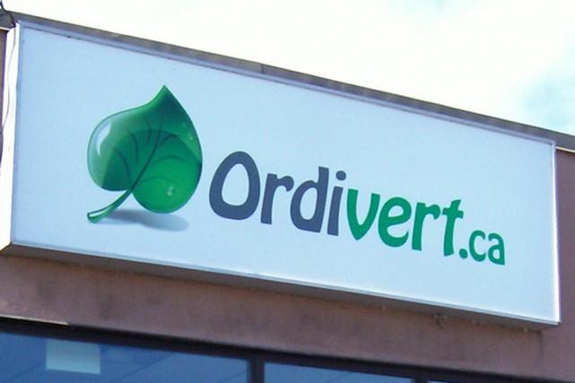 Décidément, 2015 semble être l'année de l'entreprise Ordivert de...
