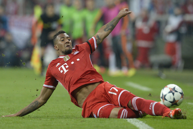 Jerome Boateng... (Photo Christof Stache, AFP)