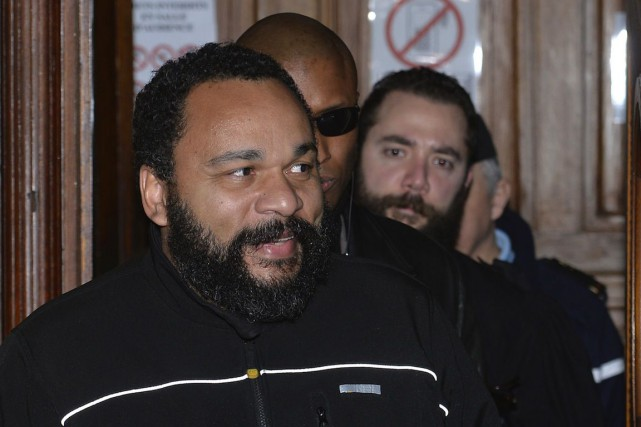 Dieudonné a déjà été condamné à plusieurs reprises... (PHOTO MIGUEL MEDINA, ARCHIVES AFP)