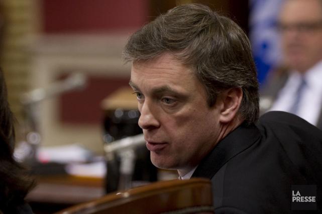 Le député libéral Marc Tanguay... (Photothèque La Presse)