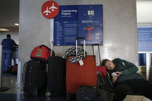 À cause de leur situation géographique, certains aéroports... (Photo AP)