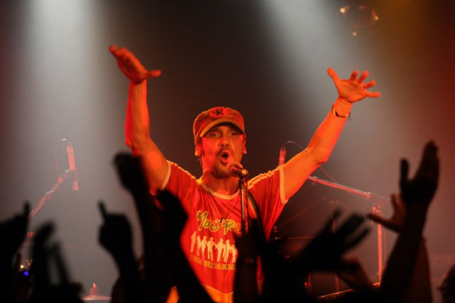 La tournée de Manu Chao débute en Colombie... (PHOTO THOMAS COEX, ARCHIVES AFP)