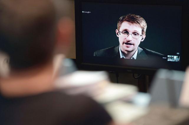 Edward Snowdenfait face à des accusations qui pourraient... (Archives AFP, Frederick Florin)