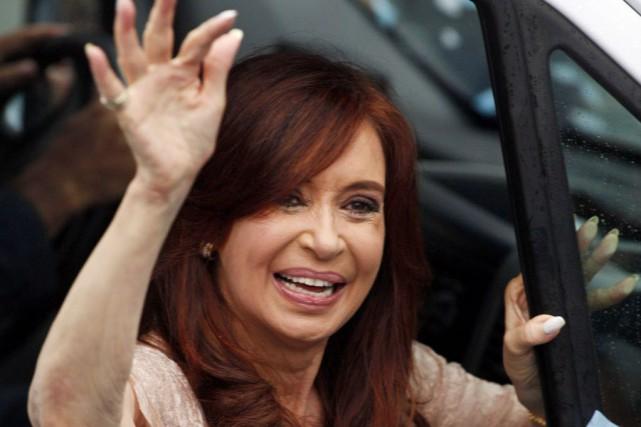 La présidente Cristina Kirchner est soupçonnée d'avoir entravé... (Photo MARTIN ACOSTA, Reuters)