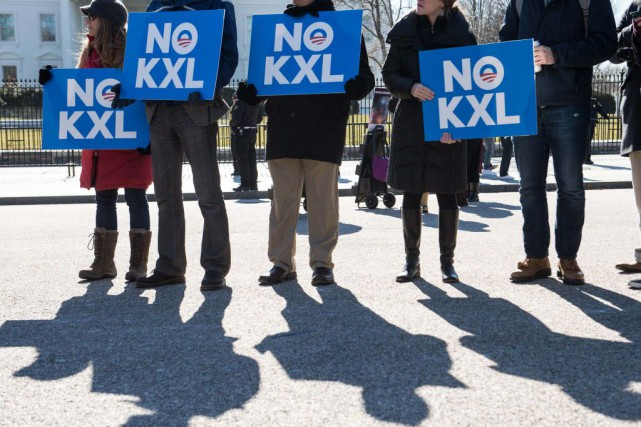 Barack Obama doit décider si Keystone XL sert... (PHOTO NICHOLAS KAMM, ARCHIVES AFP)