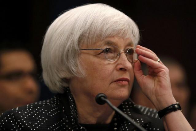 La présidente de la Réserve fédérale américaine, Janet... (Photo Jim Bourg, Archives Reuters)