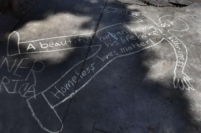 La mort du sans-abri a relancé le débat... (Photo AFP)