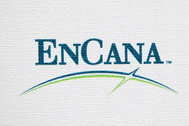 Encana (T.ECA) a l'intention d'amasser 1,25 milliard $ par le... (Photo Andrew Harrer, Bloomberg)
