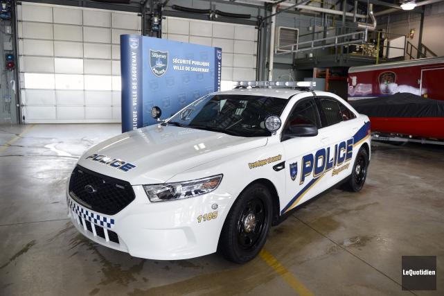 La Sécurité publique de Saguenay a dévoilé hier... ((Photo Le Quotidien, Jeannot Lévesque))