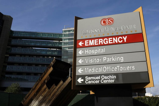 L'hôpital Cedars-Sinai de Los Angeles pourrait avoir infecté à son insu près de... (Photo: Reuters)