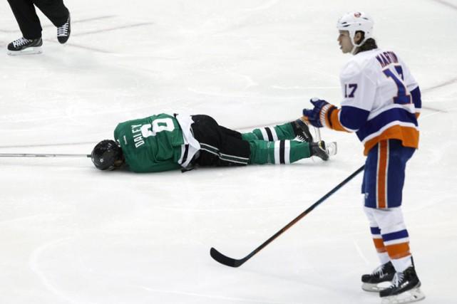 L'attaquant Matt Martin, des Islanders de New York, a été suspendu pour un... (Photo: AP)