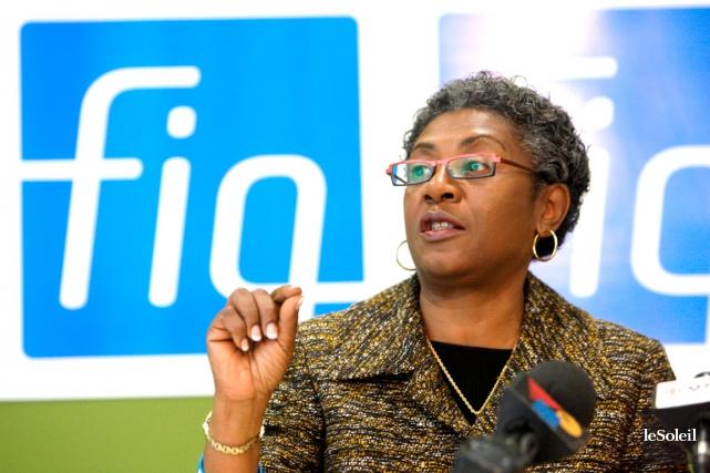La présidente de la Fédération interprofessionnelle de la... (Photothèque Le Soleil)