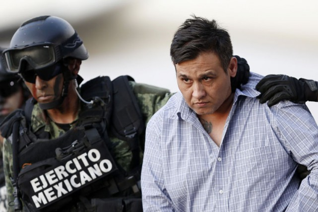Alias «Z-42», Omar Treviño, 41 ans, avait pris... (Photo: Reuters)