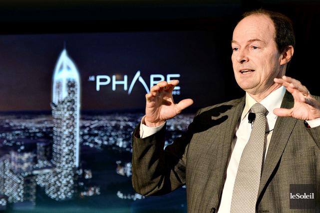 Le promoteur du Phare, Michel Dallaire... (Photothèque Le Soleil, Patrice Laroche)