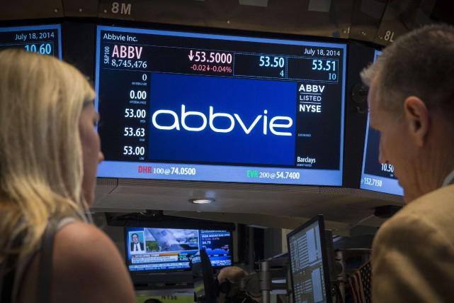 Le groupe pharmaceutique américain AbbVie a annoncé mercredi le rachat du... (Photo Reuters)