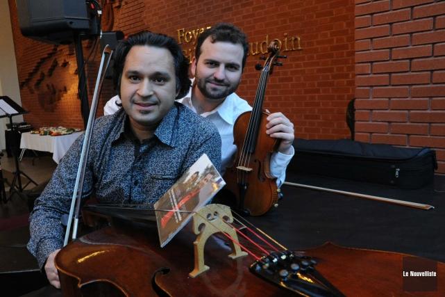 Sébastien Lépine et Antoine Bareil interpréteront le Concerto... (Photo: Sylvain Mayer Le Nouvelliste)