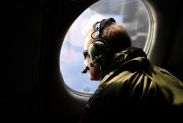 Un membre de l'aviation néo-zélandaise (la New Zealand... (PHOTO RICHARD POLDEN, ARCHIVES REUTERS)