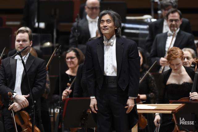 Le chef d'orchestre de l'OSM Kent Nagano lors... (PHOTO BERNARD BRAULT, LA PRESSE)